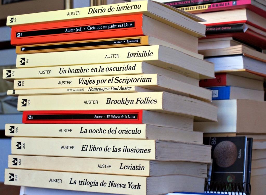 Libros de Paul Auster
