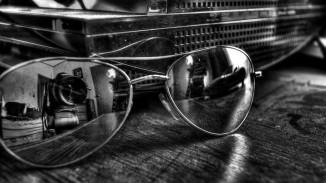 Reflejo en blanco y negro